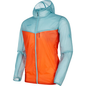 Mammut Convey - Veste Homme - orange/bleu